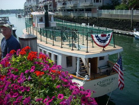 Tour Boat Chippewa, Portland, Maine