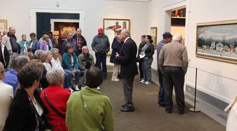 Travelers Enjoy America's Favorite Artist at the Norman Rockwell Museum in Stockbridge