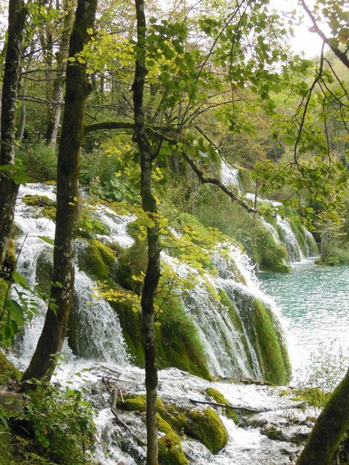 Milanovac Falls in the Plitvice Lakes National Park are Simply Splendid