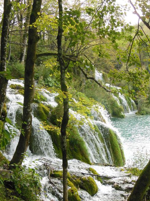 Milanovac Falls in the Plitvice Lakes National Park are Simply Splendid