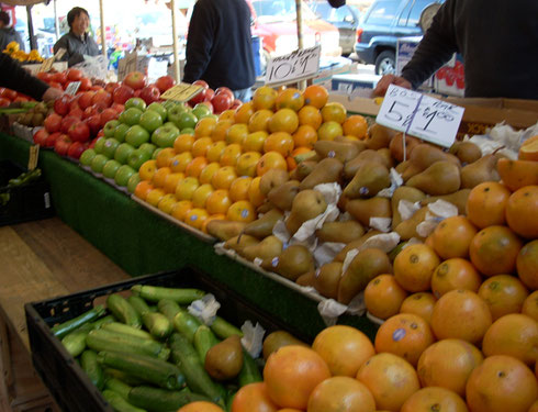 Boston's Haymarket has Tons of Fresh Produce for Sale all year-round