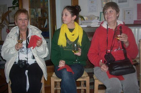 2012 At a San Gimiano Wine Tasting, they told us to Swisha-Swisha