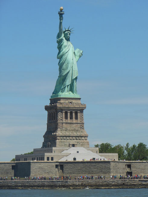 2014 One of the Best Ways to Photograph the Statue of Liberty is from the Circle Line
