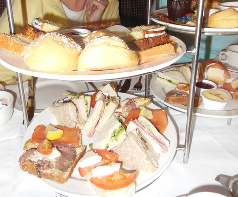 2015 Dublin, Ireland - Is there Anything Better than Afternoon Tea at the Gresham?
