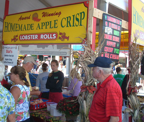 From Lobster Rolls to Apple Crisp, it's All There for Your Pleasure