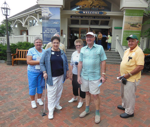 Welcome to Mystic Seaport's Village, Shipyard, and Exhibitions - A good time for everybody!