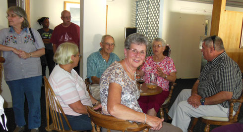 2013 Adventure Tours Keeps the Boothbay Harbor Inn Bar Busy for Happy Hour!