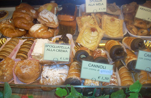 2012 Umbria, Italy - Sweets at a Little Roadside Cafe Caught my Attention