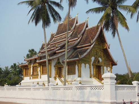 2015 Vat Ho Pha Bang is a Gorgeous Golden Temple at the Laos National Museum