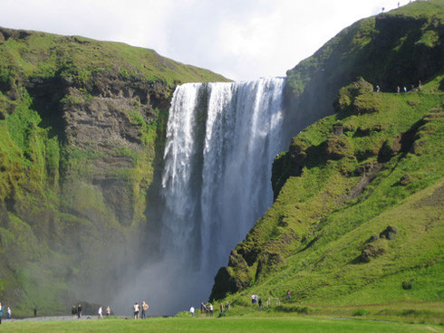 Photo of the Most Beautiful Waterfalls in Southeast Iceland - Skogafoss