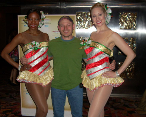 A Passenger Meets the Rockettes on a New York Outing