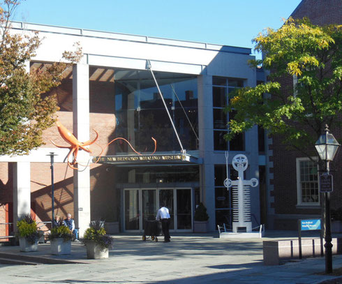 The New Bedford Whaling Museum lies in the Heart of the Waterfront District