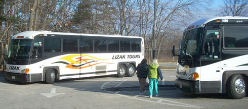 State of the Art Luxury Motor Coaches from Lizak Bus Service