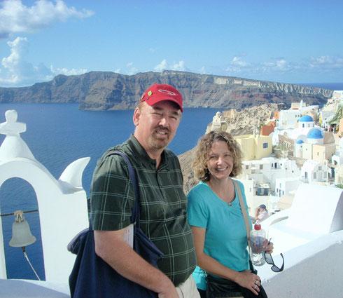 2011 Santorini - The Sea is Blue; the Sun is Shining - Perfection