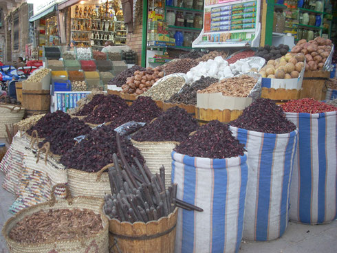 2009 The Souk in Aswan is a Shopping Paradise - Everything from Spices to Jewelry to CD's