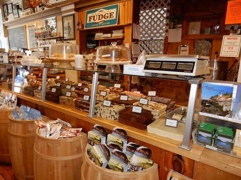 2019 The Fudge Counter at a Shop in Bar Harbor Maine - Yum!