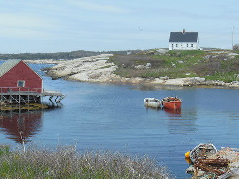 Peggy's Cove, a Most Charming Fishing Village, is a Short Drive from Halifax, Nova Scotia