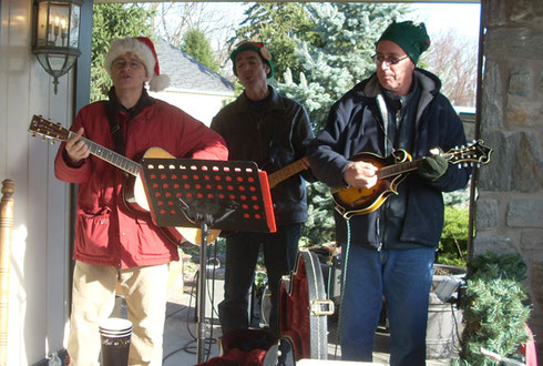 2011 We were Serenaded Everywhere we Visited - A Musical Adventure!