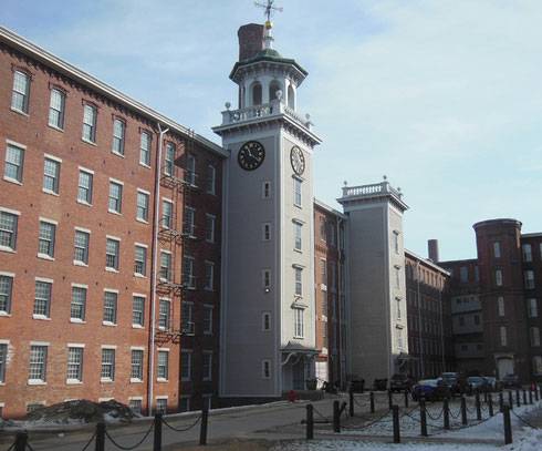 The factory bells dominated daily life in Lowell.