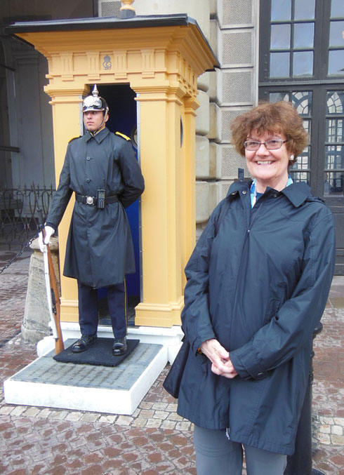 2014 We're Not Quite Sure Who's on Guard at the Royal Palace in Stockholm