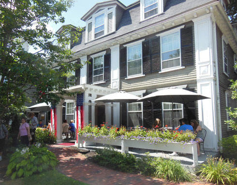 Colonial Inn in Concord was our Destination for a Hearty Lunch