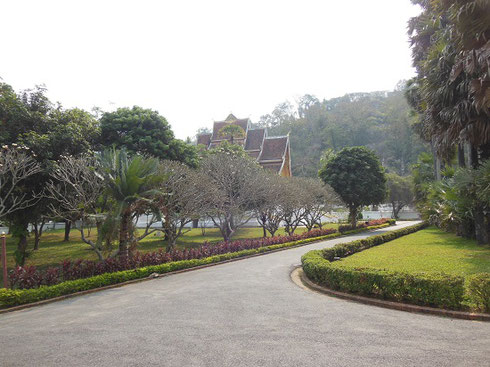 2015 The Gardens at the Laos National Museum are Beautifully Maintained