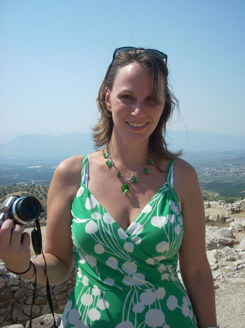 2011 Mycenae - We spent a Couple of Hours Exploring the Palace of Agamemnon at Mycenae