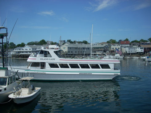 2011 The Island Lady is run by Captain Fish - This Cruise is a Highlight of our Visit