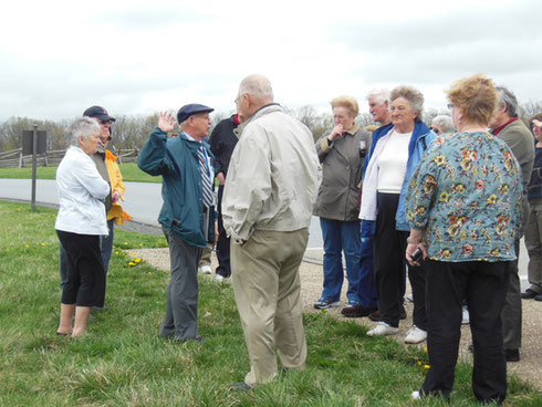 2013 On this Tour we Enjoyed a Local Guide who Showed us the Sights at Gettysburg