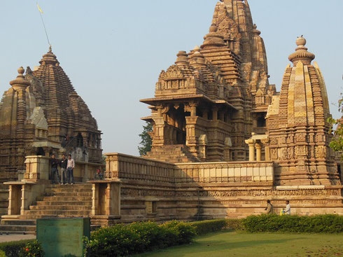 Maha Mandapa Temple is only one of many in the Temple Complex at Khujaraho