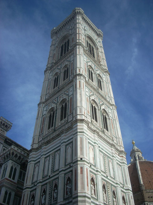 2012 Giotto's Splendid Campanile in the main Square of Florence