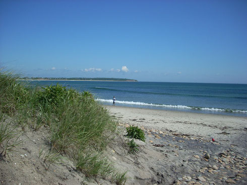 Ocean Scenery is at its Best on Block Island's Crescent Beach