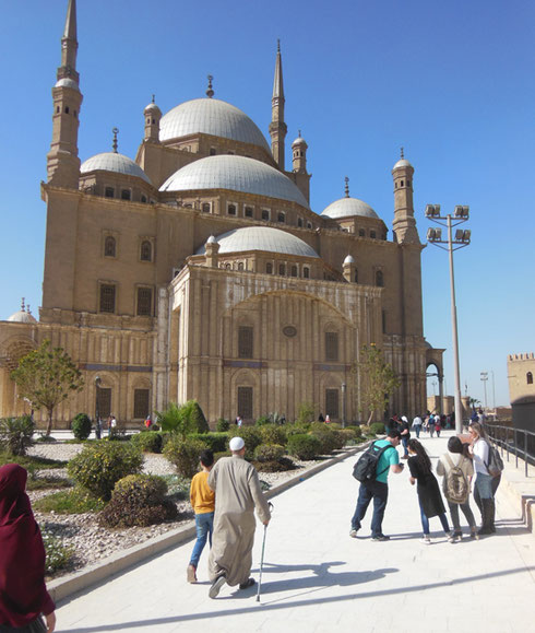2016 The Muhammad Ali Mosque in Cairo is a Must-See Site at the Citadel