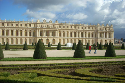 A View of the Palace of Versailles from the Gardens - Must-See Destination