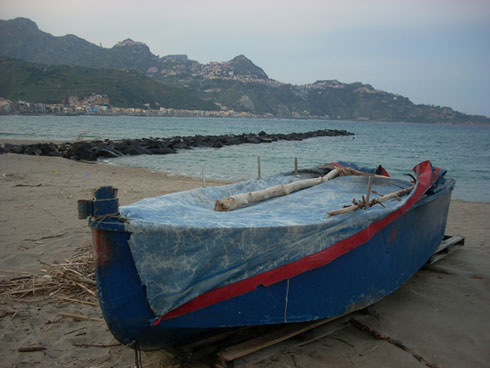 2011 Naxos is a Fishing Village adjacent to Giardini Naxos - Good place to Photograph