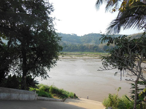 2015 This Expansive Stairway leads from the Mekon River to Vat Xieng Thong