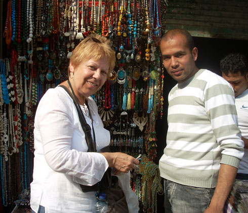 2009 The Vendors at the Khan Kalili Bazaar in Cairo were Friendly and Very Helpful