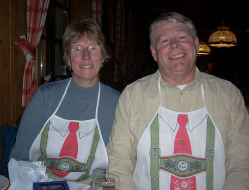 2008 The Aprons at this Black Forest Restaurant Were All Part of the Fun - Don't Ask.