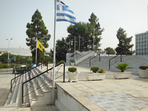 2013 Piraeus - The Steps Leading to St. Nicholas Cathedral