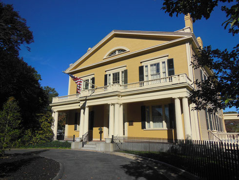 The Rotch-Jones-Duff House and Garden Museum dates back to 1834