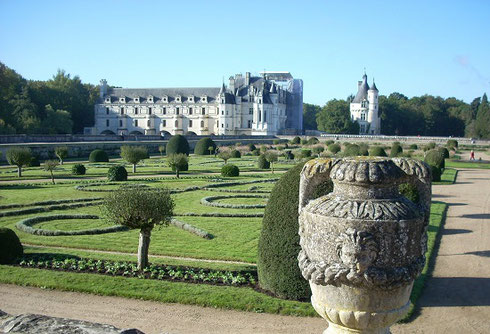 The Chateau de Chenonceau is one of the Best Known in France's Loire Valley