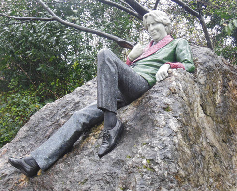 2014 The Oscar Wilde Memorial in Dublin is Just a Stone's Throw from his Childhood Home