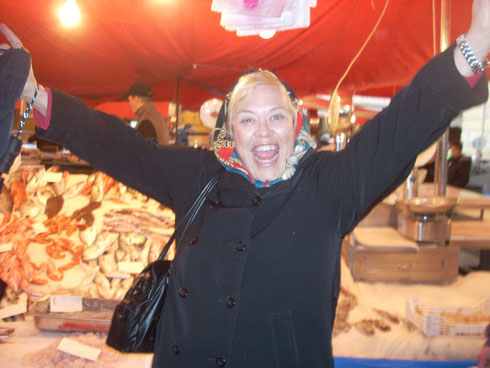 One of our Travelers Simply Loved the Fish Market at Catania, Sicily