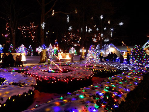 300,000 Lights celebrate the Miracle of Christmas at LaSalette Shrine