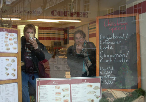 2010 The Sign in this Rothenberg Cafe Said 'Lebkuchen' mit Latte; No Explanation Necessary