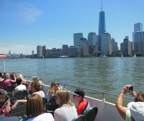 2014 We did a Circle Line Cruise around Lower Manhattan on a Beautiful June Morning