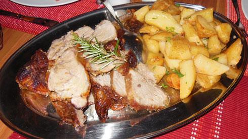 2016 Croatia Roast Shoulder of Pork with Roasted Potatoes and Fresh Rosemary