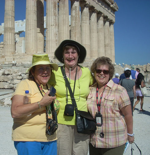 2011 Athens - Do we have a Good Time on these Excursions?  Yes!!!