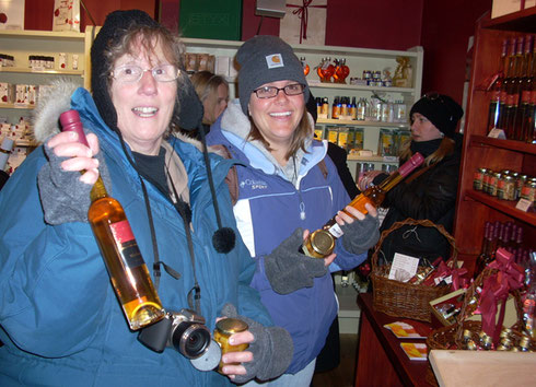 2010 These Two Found Apricot Brandy at a Shop in Durnstein, Austria - Yippee!