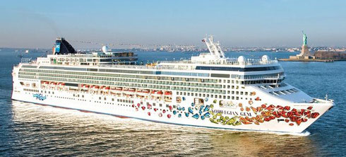 Sail from New York Harbor and Cruise aboard Norwegian Gem for Ten Fabulous Nights
